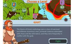 Math Games Zeus vs Monsters screenshot 2/5