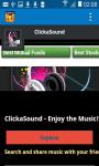 ClickaSound music screenshot 2/4