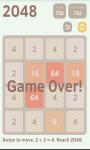 2048 Puzzle 2 screenshot 4/4