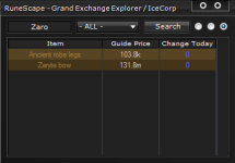 RuneScape Grand Exchange Tool Gringe Tools screenshot 2/3