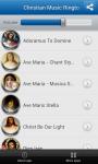 Christian Music Ringtones app screenshot 2/3