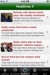South Africa News screenshot 1/1