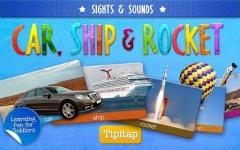 Toddler Car Ship Rocket HD Gold screenshot 1/1
