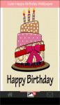 Cute Happy Birthday HD Wallpaper screenshot 2/6