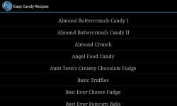 Easy Candy Recipes screenshot 1/3