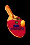 Rules to play Paddleball screenshot 1/3