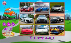 Puzzles Cars screenshot 2/6