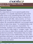 101 Ideas to Make Happy Lifelong Relationship screenshot 2/2