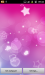 Pink Hearts Live Wallpaper Free screenshot 1/6