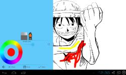 One Piece Coloring screenshot 1/3