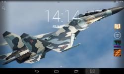 Fighter Aircrafts Live Wallpaper screenshot 1/4