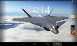 Fighter Aircrafts Live Wallpaper screenshot 2/4