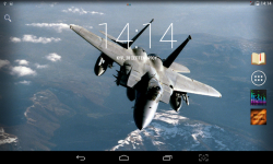 Fighter Aircrafts Live Wallpaper screenshot 4/4