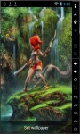 Elf And Wolf Live Wallpaper screenshot 1/2