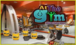 Free Hidden Object Games - At the Gym screenshot 1/4