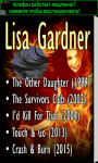 Novels by Lisa Gardner screenshot 1/3