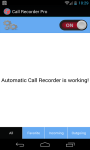 Call Recorder Professional screenshot 1/3