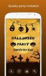 Halloween Party Invitation screenshot 1/6