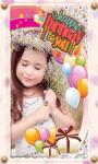 Birthday photo  maker images screenshot 1/4