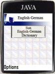 Sun English-German Dictionary screenshot 1/1
