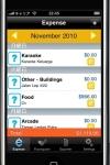 expn$e - with foursquare check-in screenshot 1/1