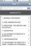 Bankruptcy (Title 11 United States Code) screenshot 1/1