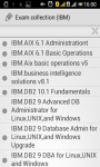 IBM exam collection screenshot 1/4