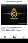 Real Madrid Logo Live Wallpaper screenshot 3/6