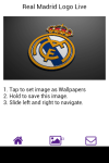 Real Madrid Logo Live Wallpaper screenshot 4/6