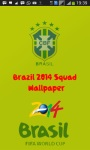 Brazil 2014 Squad Wallpaper screenshot 1/3