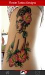 Flower Tattoo Designs screenshot 4/4