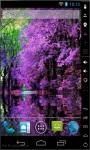 Lilac Blooming Live Wallpaper screenshot 1/2