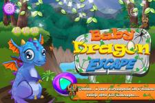 Baby Dragon Escape screenshot 1/4
