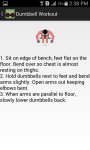 Dumbbell Workout with Animations screenshot 6/6