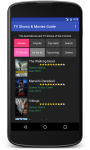 TV Shows and Movies Guide for Android screenshot 2/6