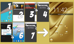 Golden Theme screenshot 6/6