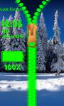 Winter Zipper Lock Screen Best screenshot 6/6