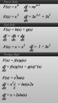 Common Derivative Rules with Examples screenshot 1/2