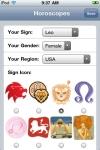 Horoscopes screenshot 1/1
