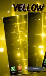 Yellow Light Streaks LWP free screenshot 2/3