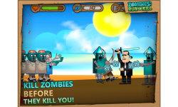 Zombies: Run or Kill - zombie shooter game screenshot 2/6