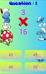 Smurfs Math screenshot 3/5