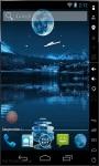 Blue Moon Night Live Wallpaper screenshot 2/2