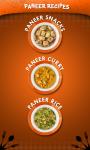 Paneer Recipes - veg food screenshot 1/4
