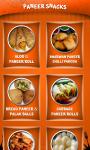 Paneer Recipes - veg food screenshot 2/4