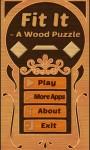 Fit It- A Wood Puzzle screenshot 1/6