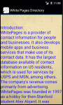 White Pages Directory screenshot 4/4