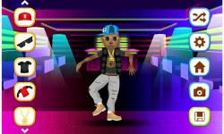 Hip Hop Fashion Stars Dress Up screenshot 3/5