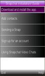 SnapChat Installation/ Guide screenshot 1/2