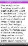 SnapChat Installation/ Guide screenshot 2/2